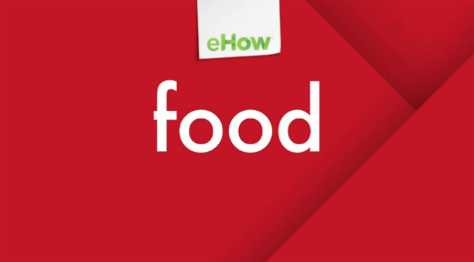 eHow Food Content Development
