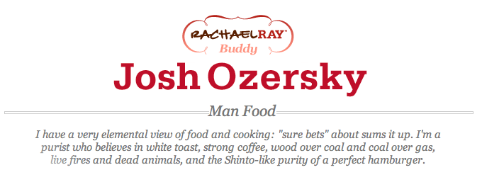 eHow Food:  Josh Ozersky
