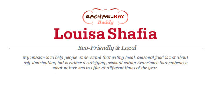 eHow Food:  Louisa Shafia