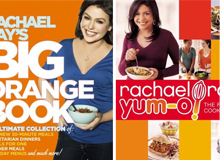 Best-Selling Cookbooks by Rachael Ray