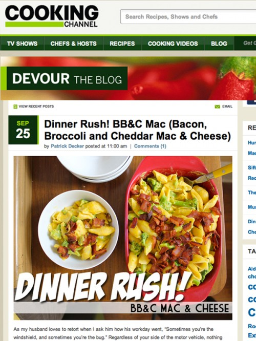 Dinner Rush BBC Mac cover