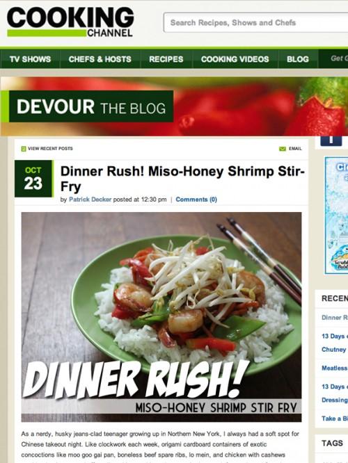 Devour Blog cover