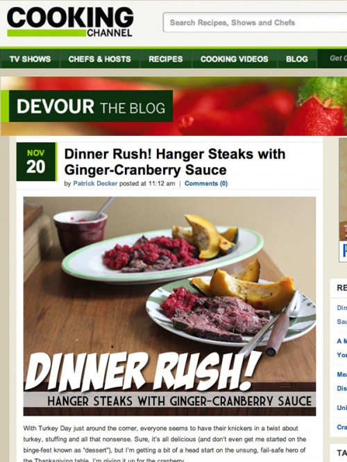 Devour Blog cover template