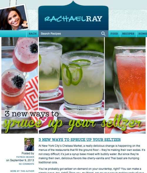RachaelRay.com 3 New Ways to Spruce Up Your Seltzer